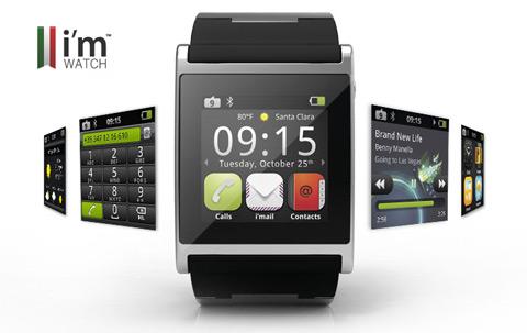 i'M Watch color il primo smartwatch.... italiano!