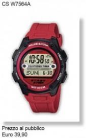Casio Time orologio uomo CS W7564A