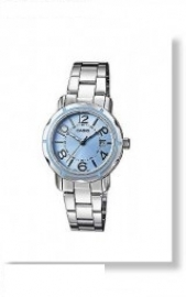 Casio time orologio donna CS LTP1299D2A