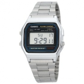 Casio Casio multifunzione orologio uomo  A158WA-1C