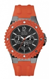 Orologio Guess Watches uomo GENT ORANGE W11619G4