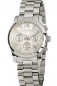 Orologio Michael Kors donna STEEL CHRONO SILVER DIAL MK5304