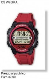 Casio Time orologio uomo CS W7564A