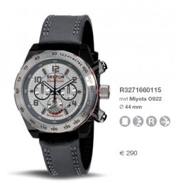 Orologio Sector uomo RACING R3271660115