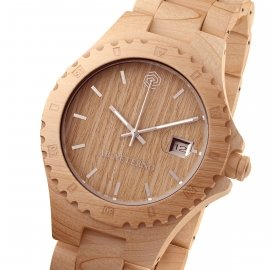 Orologio in legno di acero naturale Sandy - Collezione Nature